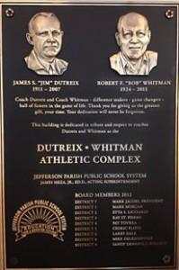 East Jefferson High School athletic complex dedication