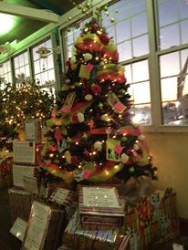 The Cystic Fibrosis Foundation Tree -- Treasure Chest Casino Tree of Hope contest